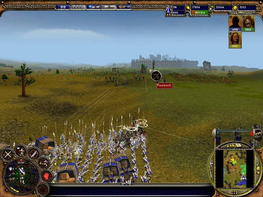Warrior Kings: Battles, Black Cactus, RTS, BSG, Były Sobie Gry, gry, strategie, strategia