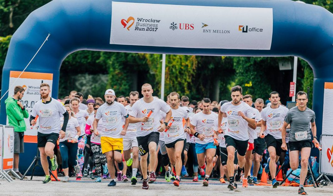 Wrocław Business Run 2017