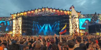 Woodstock, Pol'and'Rock Festival, 2016, scena